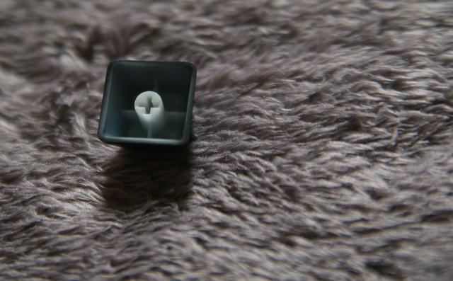 Chân của keycap được đúc rất chuẩn.