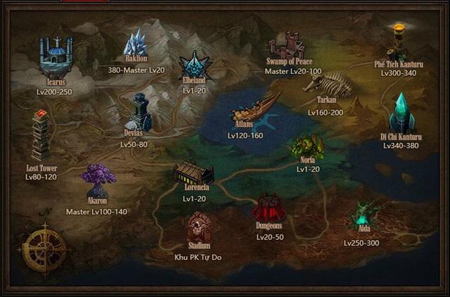 Bản đồ quen thuộc của MU