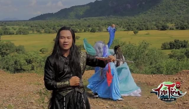 Hình ảnh trong MV chế Trọn Tình của Thánh Borelo Lưu Minh Tài Smile