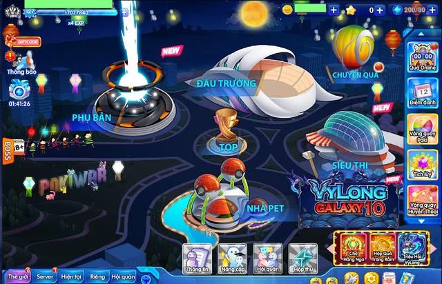 Với sự kiện Trung thu, mỗi ngày đăng nhập người chơi sẽ nhận được quà từ BoBo. Người chơi sẽ nhận được đèn lồng và nến khi đánh boss Trái Đất hay Ngân Hà và dùng nến, đèn lồng để tiếp tục đổi quà.