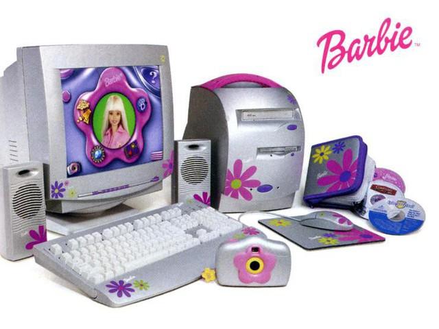 Dàn máy độc đáo phong cách Barbie