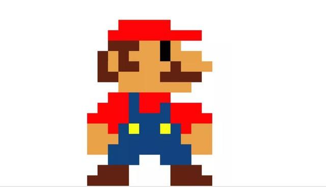 Tạo hình Mario ngày nay tới từ sự hạn chế đồ họa của quá khứ