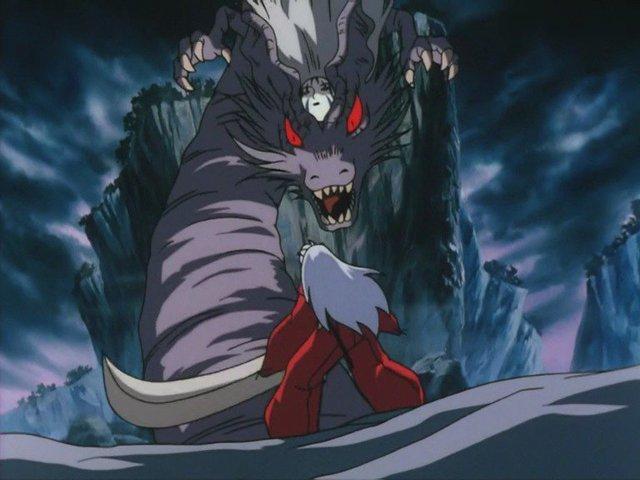 Nếu muốn điều khiển Thiết Toái Nha dễ dàng như trước, Khuyển Dạ Xoa buộc phải giết chết được yêu quái rất mạnh Long Cốt Tinh.