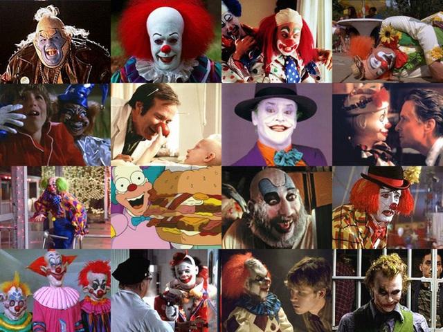 Từ một nhân vật gây hài, mua vui trong các rạp xiếc và công viên giải trí, các chú hề ngày nay đã trở thành kẻ đáng sợ giết người