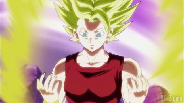 Kale có thể kiểm soát trạng thái Siêu Saiyan cuồng nộ.