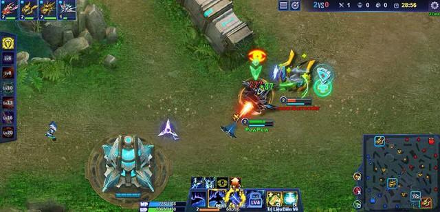 Mỗi Tank sẽ có skill và cách đặc tính riêng để tạo ra nhiều chiến thuật