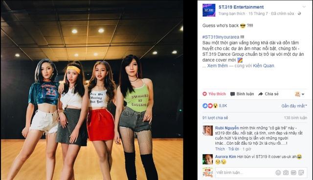 ST 319 sẽ trở lại mạnh mẽ với dự án Dance cover mới