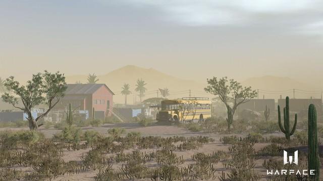 Bản đồ đầu tiên trong chế độ Battle Royake mang tên Mojave