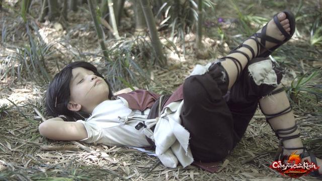 Ngắm hậu duệ Kiều Phong say ngủ đáng yêu thế này, chắc hẳn ai cũng cảm thấy bình yên?