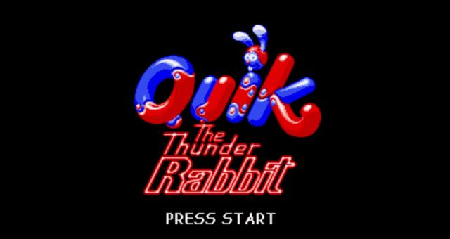 Quik the Thunder Rabbit - một tựa game SNES chưa từng được biết đến.