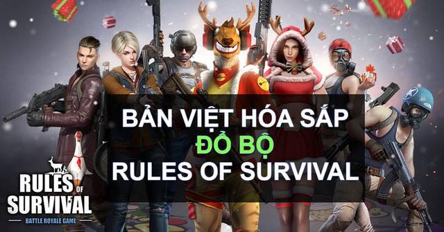Bản Việt hóa của Rules of Survival sẽ được cập nhật vào cuối tuần