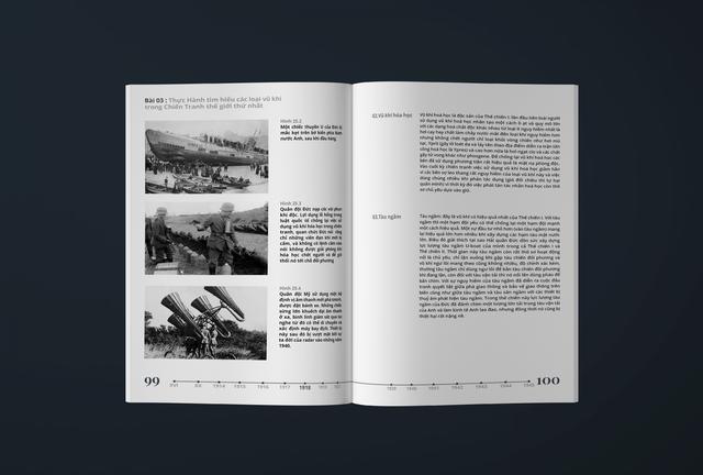 Xuất hiện thần đồng cấp 3, thiết kế lại sách giáo khoa lịch sử đẹp ngỡ ngàng - Ảnh 4.