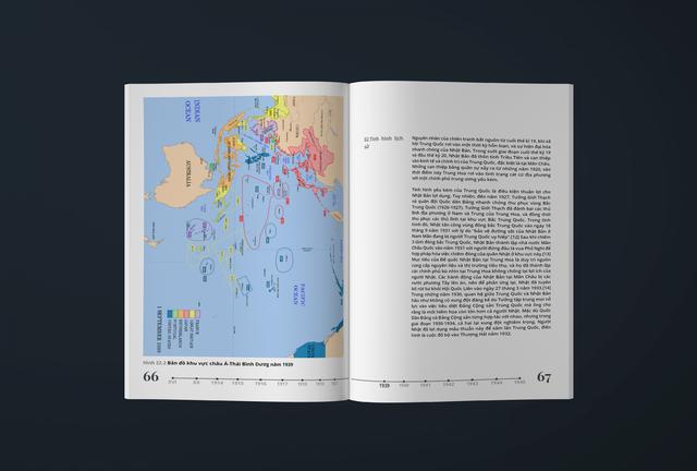 Xuất hiện thần đồng cấp 3, thiết kế lại sách giáo khoa lịch sử đẹp ngỡ ngàng - Ảnh 2.