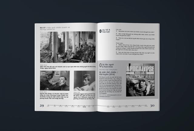 Xuất hiện thần đồng cấp 3, thiết kế lại sách giáo khoa lịch sử đẹp ngỡ ngàng - Ảnh 7.