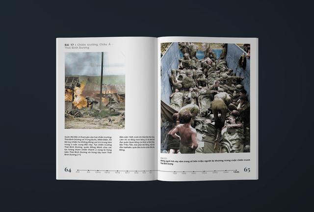 Xuất hiện thần đồng cấp 3, thiết kế lại sách giáo khoa lịch sử đẹp ngỡ ngàng - Ảnh 3.
