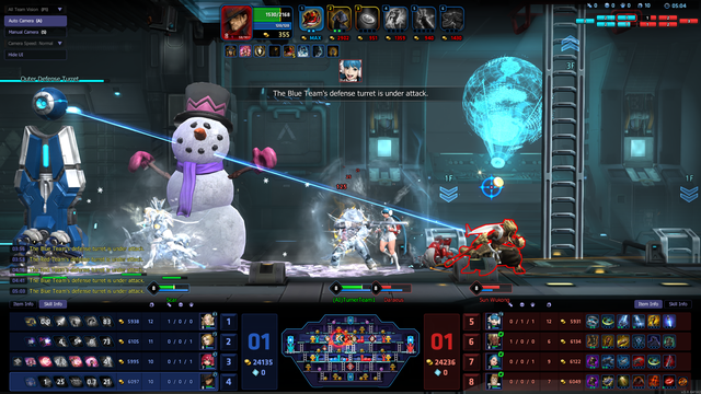 Game MOBA cuộn cảnh siêu độc Hyper Universe dừng cuộc chơi tại quê nhà Hàn Quốc - Ảnh 3.