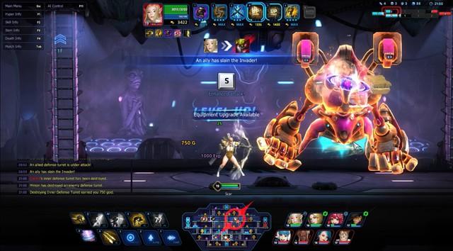 Game MOBA cuộn cảnh siêu độc Hyper Universe dừng cuộc chơi tại quê nhà Hàn Quốc - Ảnh 2.
