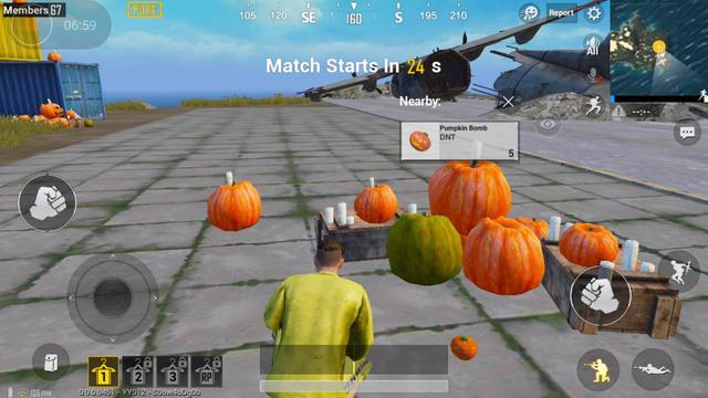 PUBG Mobile: Hết bom Táo, Tencent lại cho game thủ ném bom Bí Ngô - Ảnh 1.
