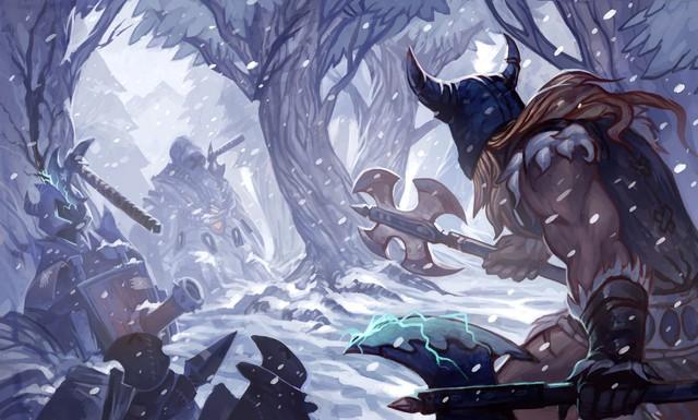 Các đội tuyển tại CKTG đang sử dụng Olaf sai cách khiến vị tướng này không phát huy được sức mạnh - Ảnh 2.