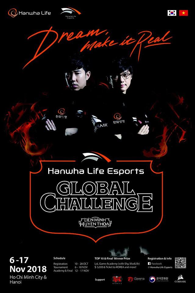 Đội tuyển LMHT Hàn Quốc Hanwha Life tổ chức giải đấu tại Việt Nam: Cơ hội go pro của game thủ Việt - Ảnh 3.