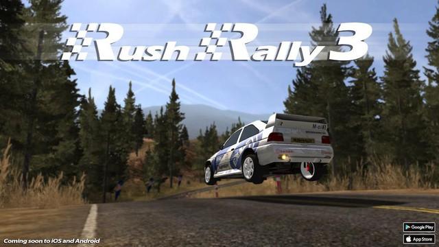 Game đua xe tuyệt vời Rush Rally 3 sắp mở cửa ngay cuối tháng này - Ảnh 1.
