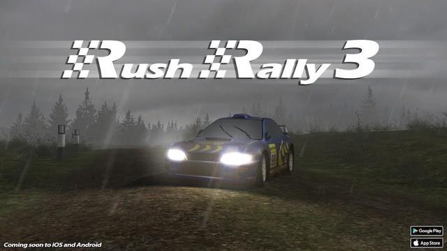 Game đua xe tuyệt vời Rush Rally 3 sắp mở cửa ngay cuối tháng này - Ảnh 2.