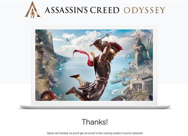 Google cho phép chơi miễn phí game Assassins Creed Odyssey trên trình duyệt Chrome, không cần máy tính cấu hình khủng - Ảnh 1.