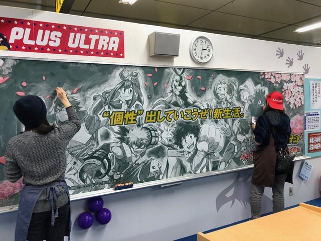 Cô giáo nhà người ta: Khuyến khích học sinh chăm chỉ bằng cách... vẽ Manga lên bảng phấn - Ảnh 6.