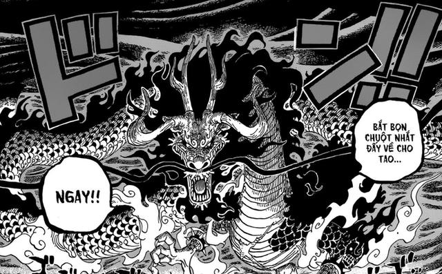Tin chấn động: Luffy xuất chiêu, đấm bẹp đầu Rồng thần Kaido trong One Piece 922 - Ảnh 3.