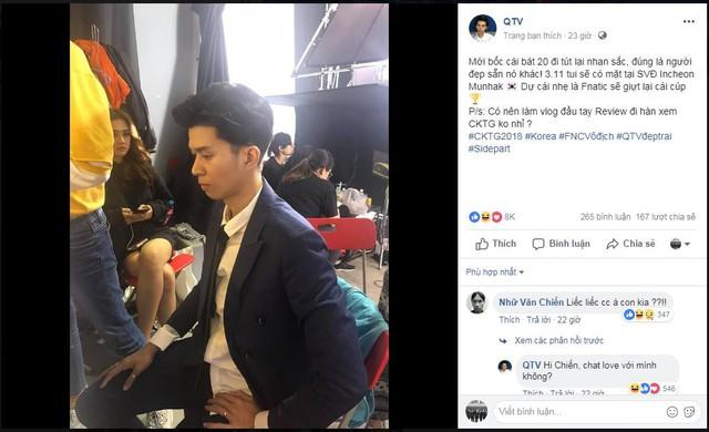 QTV tút lại vẻ đẹp trai chuẩn bị sang Hàn Quốc du đấu All Star? - Ảnh 1.