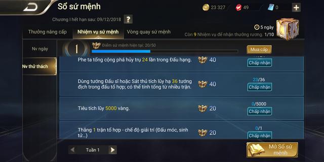 Liên Quân Mobile: Nhiệm vụ đánh 5000 trận đổi thành tiêu 5000 vàng, vẫn khó cho game thủ? - Ảnh 3.