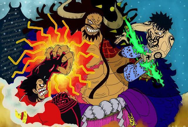 One Piece: Kaido sẽ tiêp tục biến thân thành hình dạng nửa người nửa Rồng trong Chapter tiếp theo? - Ảnh 3.