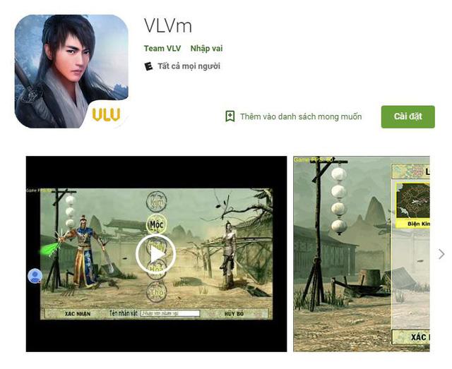 Võ Lâm Truyền Kỳ 1 Mobile thay tên thành VLVm để tránh vấn đề bản quyền? - Ảnh 1.