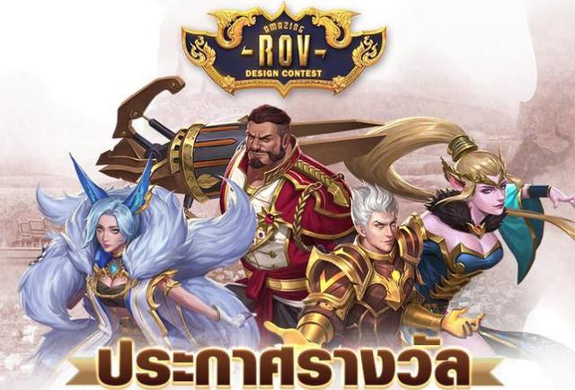 Liên Quân Mobile: Sau áo dài Việt Nam, Garena sắp trình làng Quốc Phục Thái Lan - Ảnh 1.