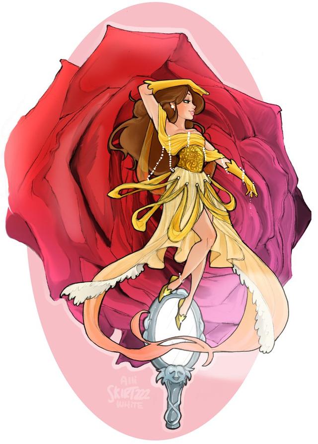 Ngắm chân dung các mỹ nữ Disney khi xuyên không sang Final Fantasy - Ảnh 11.
