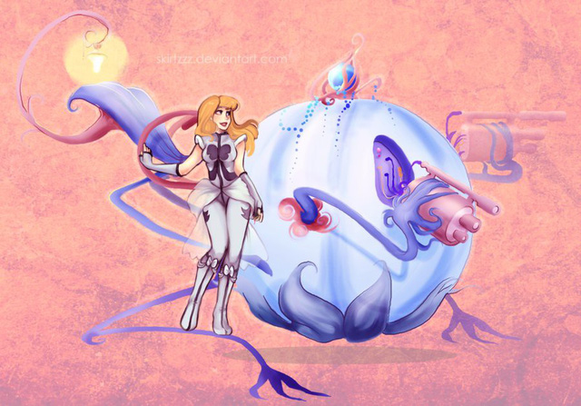 Ngắm chân dung các mỹ nữ Disney khi xuyên không sang Final Fantasy - Ảnh 3.