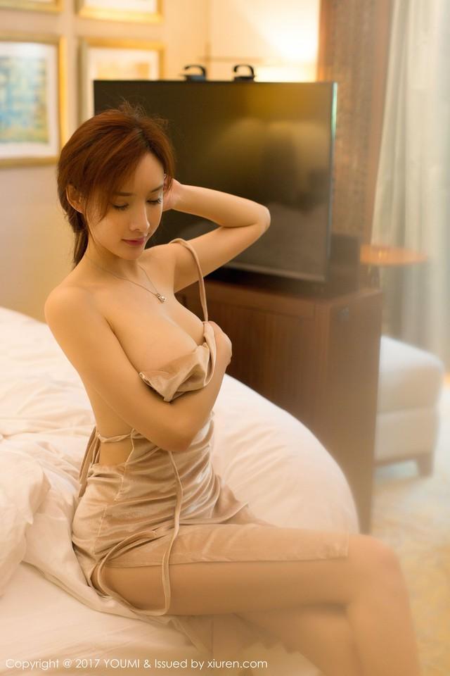Mềm nhũn trước loạt ảnh nóng bỏng đầy khiêu khích của siêu mẫu Zhou Yan Xi - Ảnh 18.