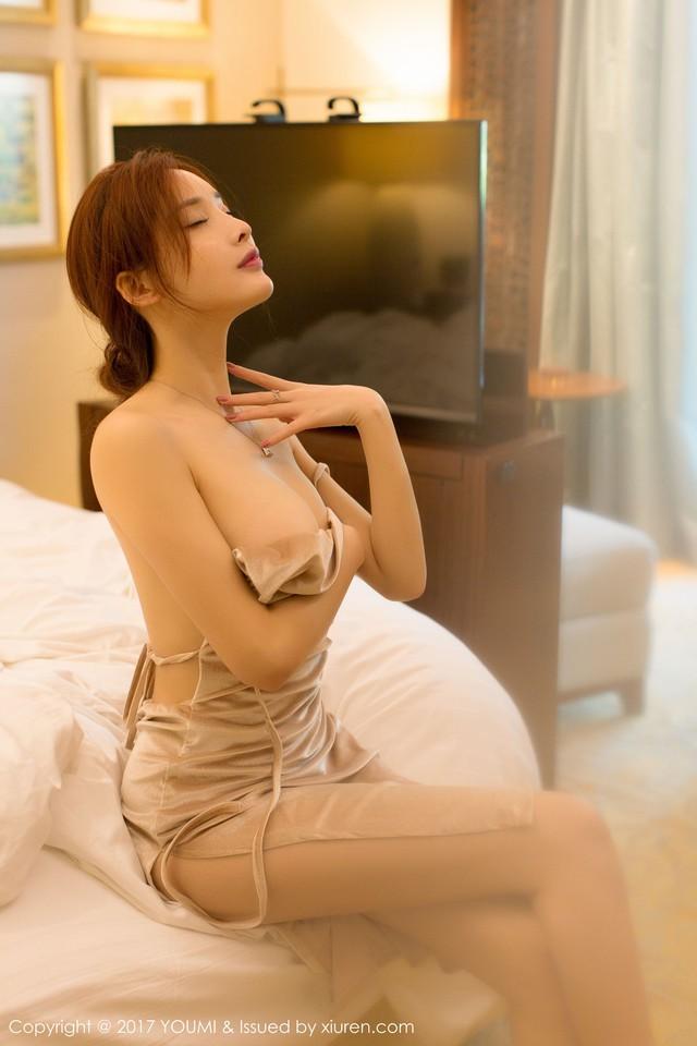 Mềm nhũn trước loạt ảnh nóng bỏng đầy khiêu khích của siêu mẫu Zhou Yan Xi - Ảnh 15.