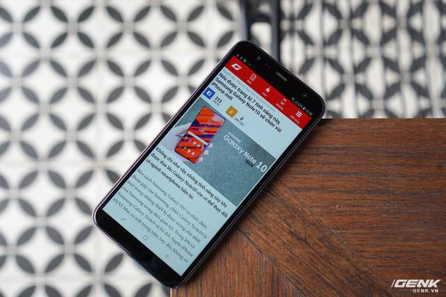 Trải nghiệm Galaxy J6+ vừa ra mắt của Samsung: giao diện giống Note9, hoàn thiện tốt, vị trí đặt cảm biến vân tay tốt hơn - Ảnh 11.