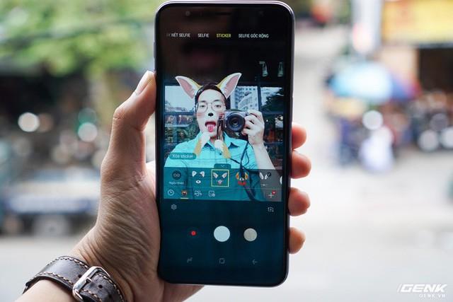 Trải nghiệm Galaxy J6+ vừa ra mắt của Samsung: giao diện giống Note9, hoàn thiện tốt, vị trí đặt cảm biến vân tay tốt hơn - Ảnh 14.