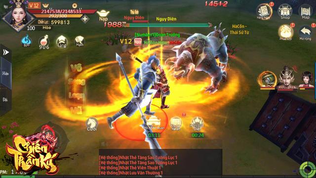 """Game """"PK cực mạnh, cày tiền cực nhanh"""": Chiến Thần Ký chính thức ra mắt, tặng 2000 Giftcode - Ảnh 4."""