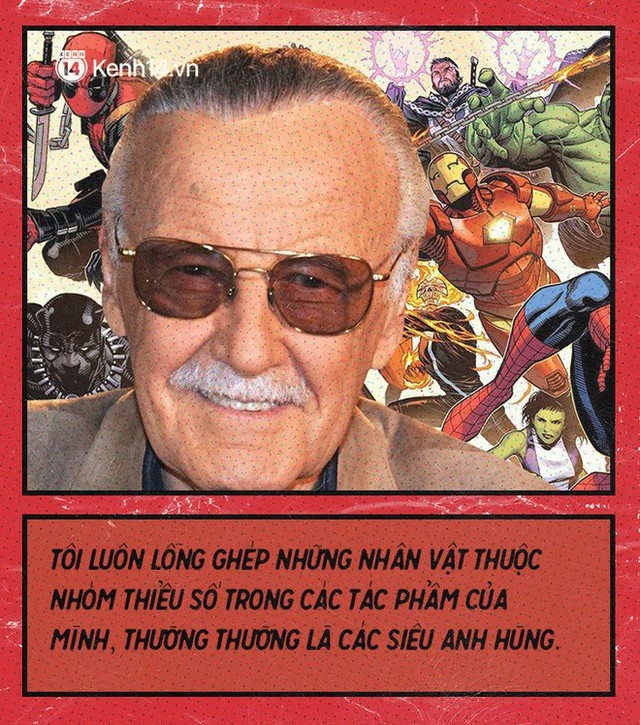 9 câu nói chẳng thể nào quên từ Stan Lee - Huyền thoại của những huyền thoại - Ảnh 2.