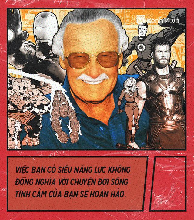 9 câu nói chẳng thể nào quên từ Stan Lee - Huyền thoại của những huyền thoại - Ảnh 3.
