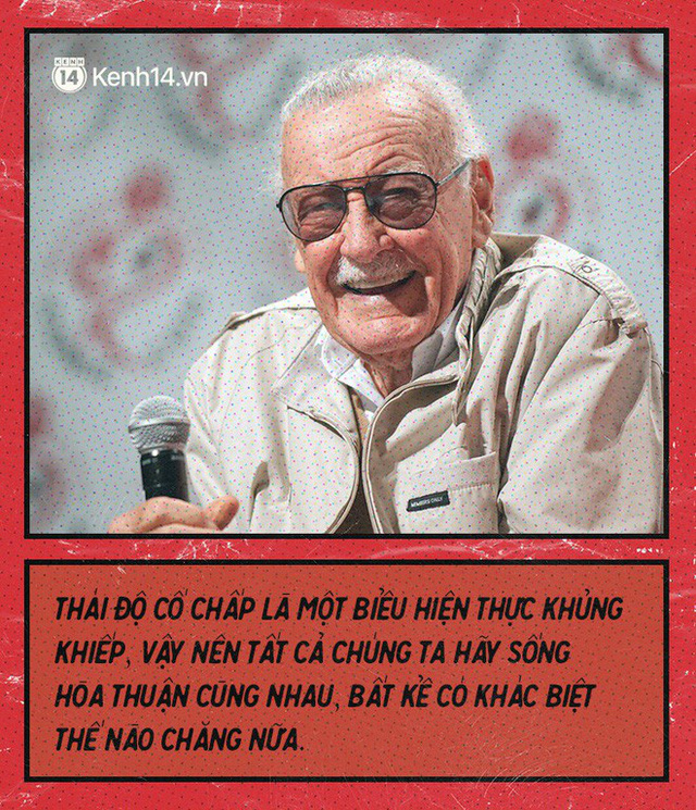 9 câu nói chẳng thể nào quên từ Stan Lee - Huyền thoại của những huyền thoại - Ảnh 4.