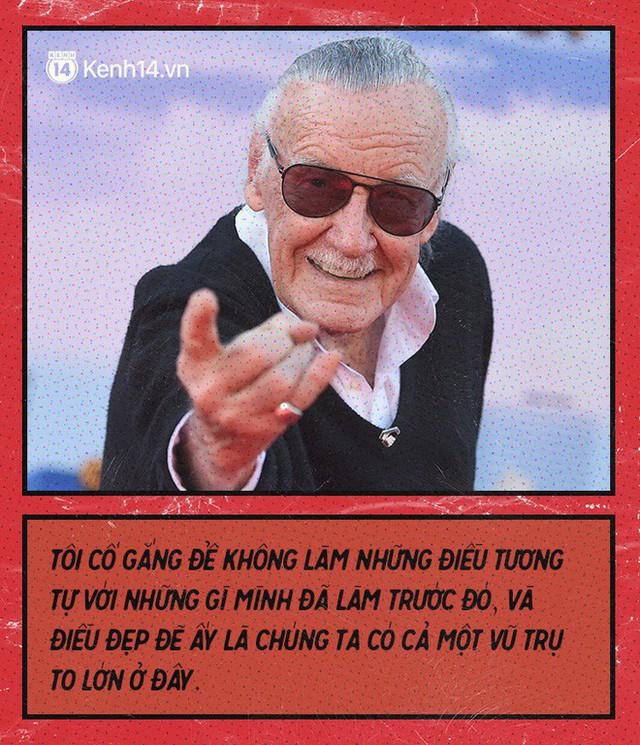 9 câu nói chẳng thể nào quên từ Stan Lee - Huyền thoại của những huyền thoại - Ảnh 5.