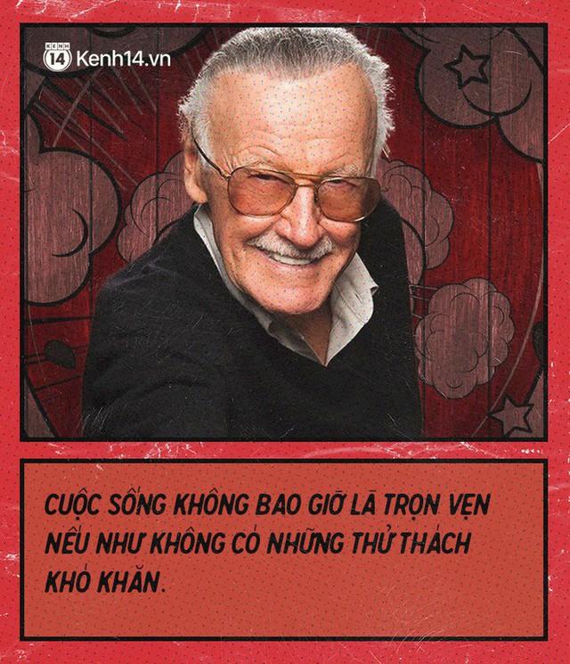 9 câu nói chẳng thể nào quên từ Stan Lee - Huyền thoại của những huyền thoại - Ảnh 6.