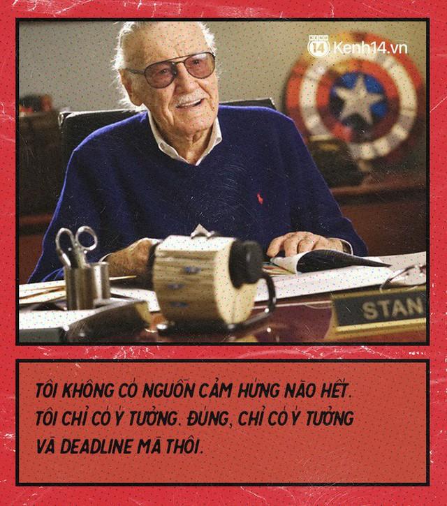 9 câu nói chẳng thể nào quên từ Stan Lee - Huyền thoại của những huyền thoại - Ảnh 7.