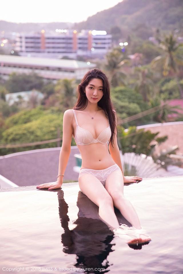 Phần đặc biệt: Nóng bỏng bất chấp gió mùa với vẻ gợi cảm thiên thần của cô giáo Xiao Reba - Ảnh 23.