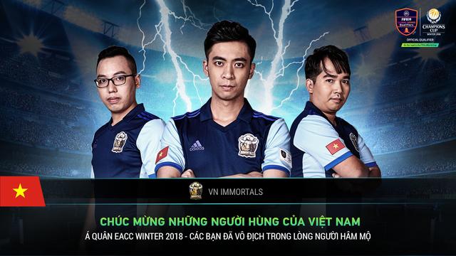 Đội tuyển FIFA Online 4 Việt Nam - VIETNAM IMMORTALS Image-1-154268179475875399811