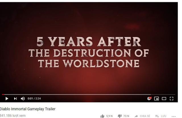 Bị fan ném đá với trailer của Diablo bản mobile, Blizzard chơi bẩn xóa comment tiêu cực và dislike - Ảnh 1.